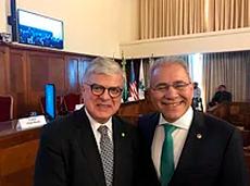 SBC concede título de associado honorário a Fausto Pinto, presidente da WHF