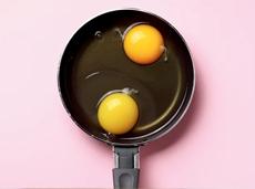 O ovo está bombando!