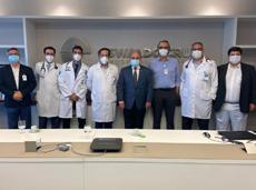 SBC visita o Hospital Alemão Oswaldo Cruz
