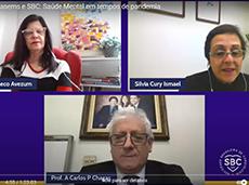 SBC e CONASEMS debatem saúde mental antes e depois da pandemia