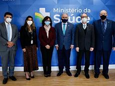 SBC e ministro da Saúde discutem estratégias para aprimorar o cuidado com doenças cardiovasculares