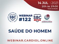 Em alusão ao Dia do Homem, SBC promove webinar sobre saúde masculina